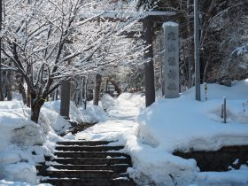 定山渓温泉街