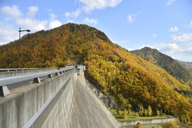 定山渓ダム(札幌湖)