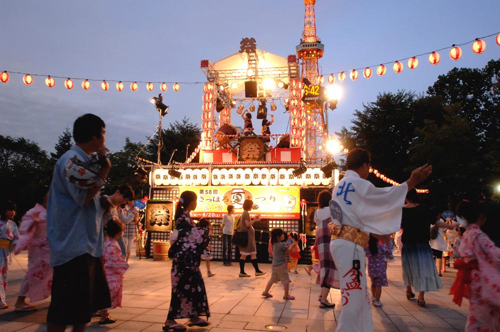 さっぽろ夏まつり(北海盆踊り)
