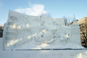 第59回さっぽろ雪まつり(大通会場)