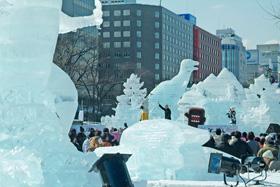 第62回さっぽろ雪まつり(大通会場)