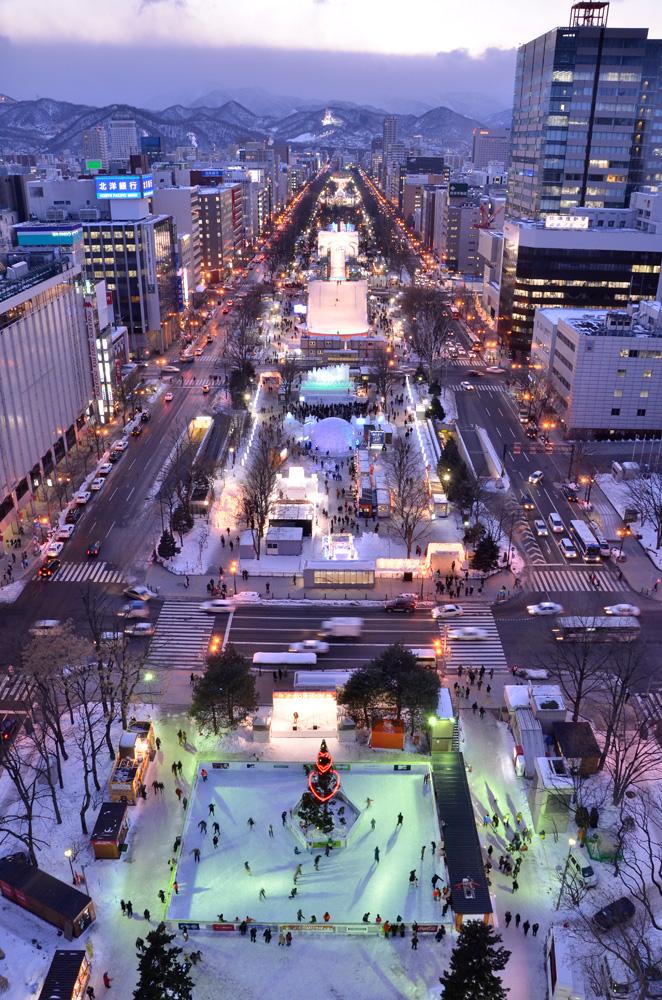第63回さっぽろ雪まつり(大通会場)