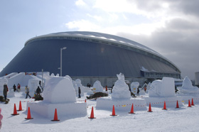 第62回さっぽろ雪まつり(つどーむ会場)