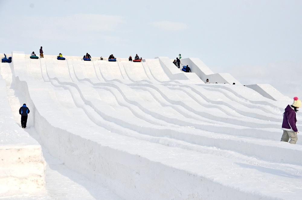 第63回さっぽろ雪まつり(つどーむ会場)