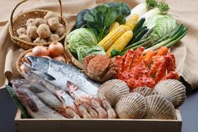 海鮮・野菜食材
