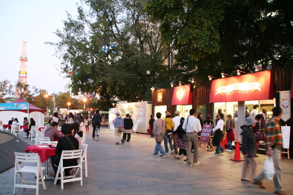 さっぽろオータムフェスト2009(4丁目会場)