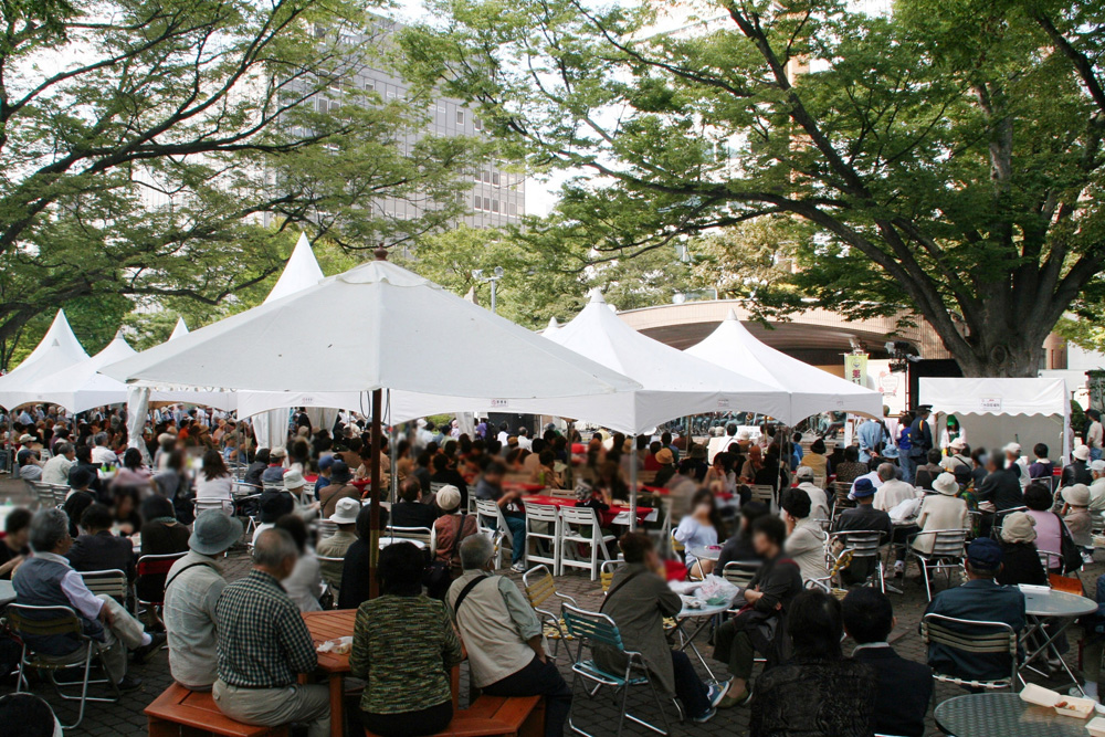 さっぽろオータムフェスト2009(6丁目会場)
