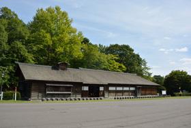旧島松駅逓所(北広島市)