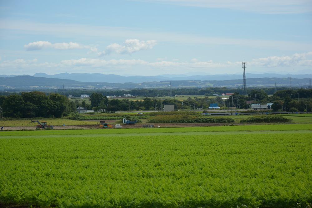 竹山高原からの眺望(北広島市)